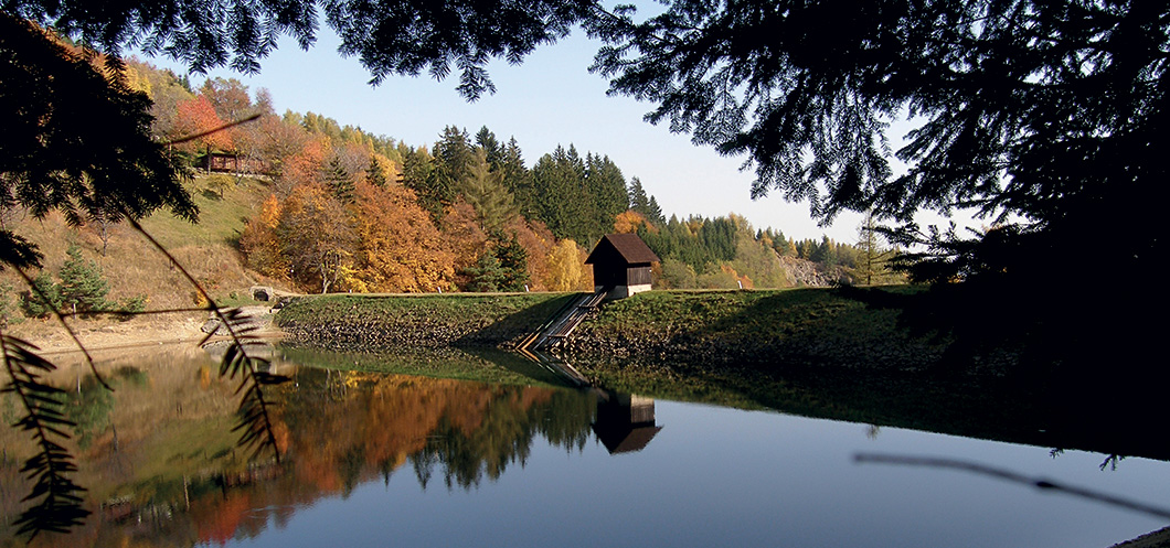 Banska Stiavnica - Tajch Klinger - jesen