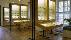 Expozícia minerálov - Berggericht - Slovenské banské múzeum - Banská Štiavnica