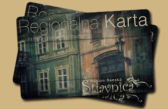 Banska Stiavnica - OOCR Region Stiavnica - zlavova karta