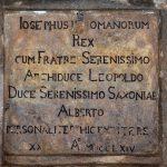 Stolna Glanzenberg - pamatna tabula © Lubo Luzina