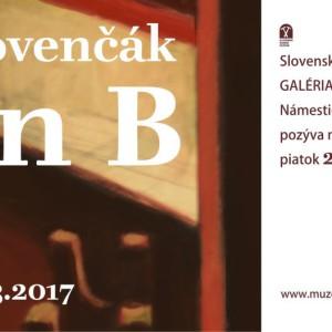 vystava ivan slovencak GJK Plan B