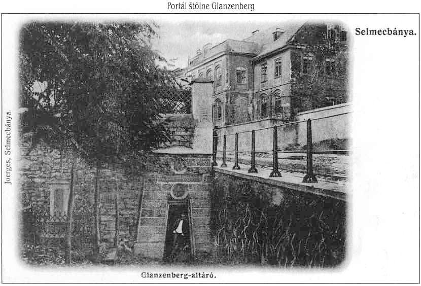 Portál štôlne Glanzenberg