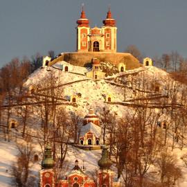 Banka Stiavnica - Kalvaria - zima