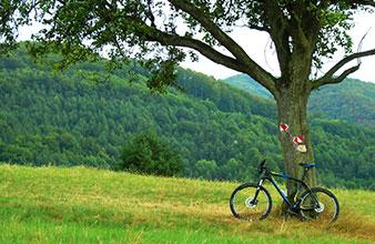 Horska cyklistika - priroda