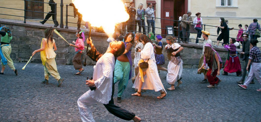Banska Stiavnica - Trotuar - Festival Kreater