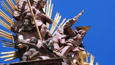 Morový stĺp - Námestie sv. Trojice - Banská Štiavnica