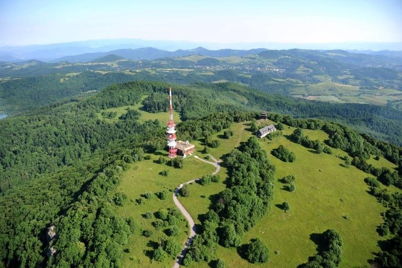 077 – Banská Štiavnica – Sitno – pohľad z vrchu – Lubomír Lužina – 19.06.12
