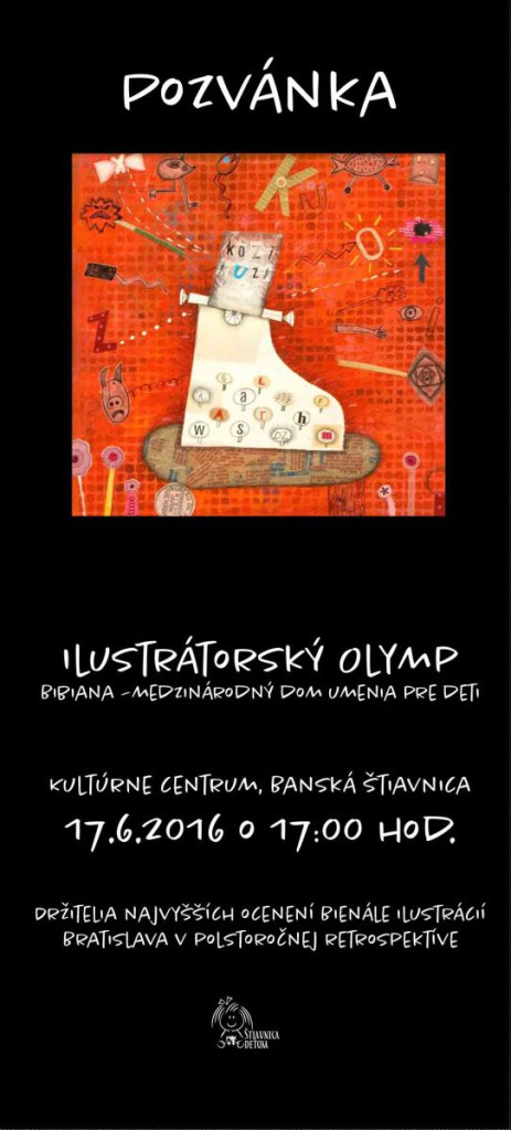 Ilustratorsky olymp pozvanka