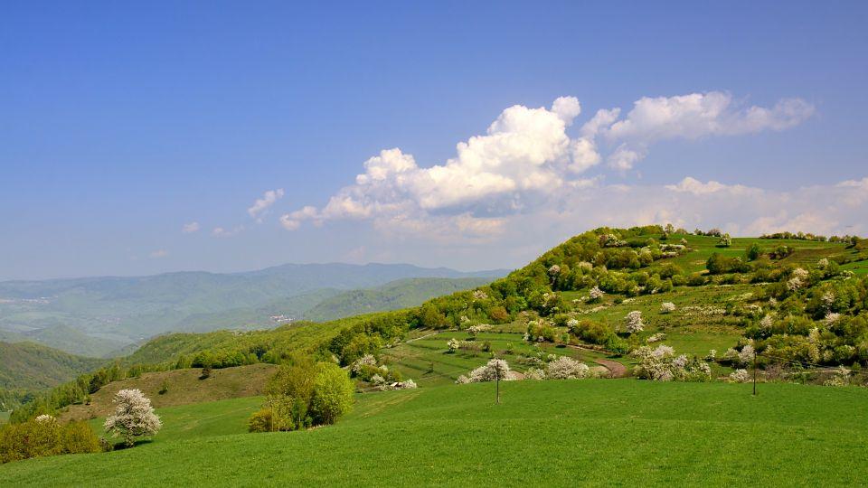 Jarná atmosféra Štiavnických vrchov © Ján Petrík